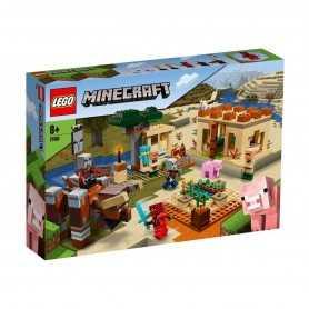Lego Minecraft Illager Baskını