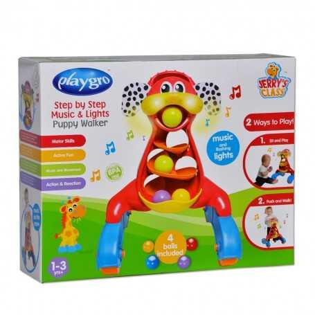 Playgro Işıklı ve Müzikli Köpek Yürüme Arkadaşı