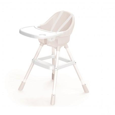 Dolu Beyaz Mama Sandalyesi