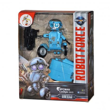 Spcman Metal Gövdeli Dönüşen Robot