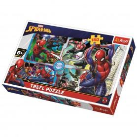 Örümcek Adam Kurtarma Trefl Puzzle / 160 Parça