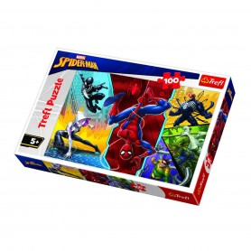 Örümcek Adam Trefl Puzzle / 100 Parça