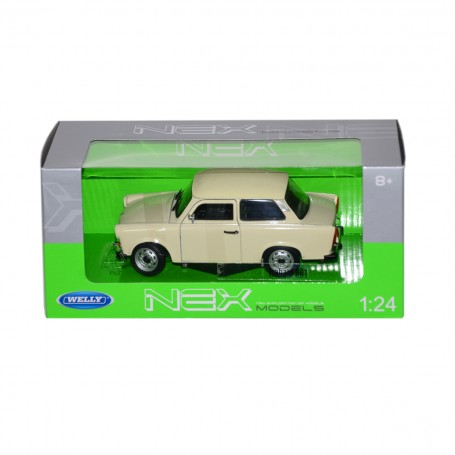 Welly Trabant Model Araba | 1:24 Ölçek