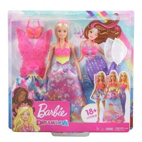 Barbie Dönüşen Prenses Bebekler   Dreamtopia Hayaller Ülkesi
