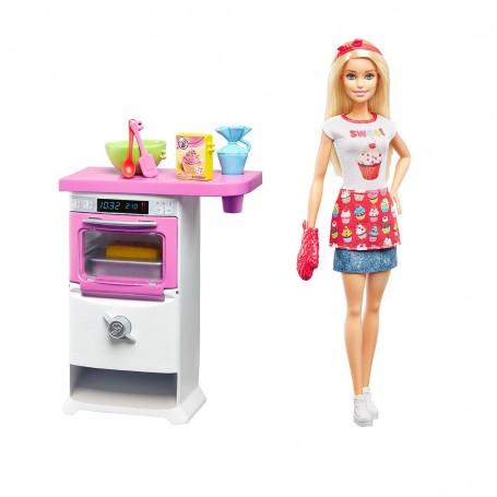 Barbie Mutfakta Oyun Seti | Barbie Ben Büyüyünce