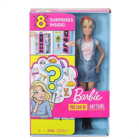 Barbie Sürpriz Meslek Bebeği | Barbie Ben Büyüyünce