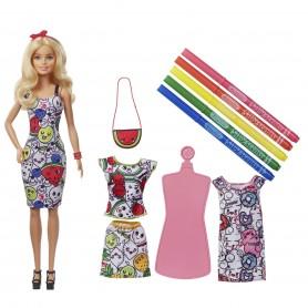Barbie ve Crayola Renkli Kıyafetler