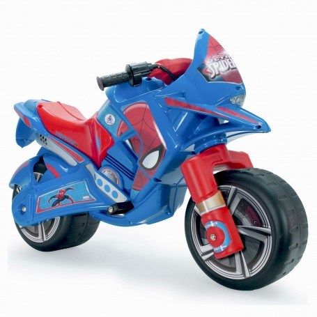 Örümcek Adam 6V Mavi Akülü Motorsiklet