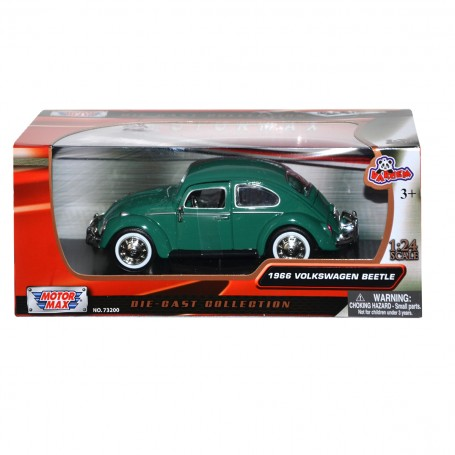 1966 Volkswagen Beetle Model Araba | 1:24 Ölçek