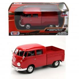 Volkswagen Bus Double Cab Pickup | 1:24 Ölçek
