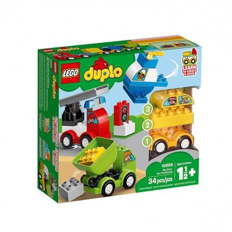 Lego Duplo İlk Araba Tasarımlarım