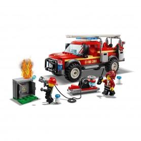 Lego City İtfaiye Şefi Müdahale Kamyonu