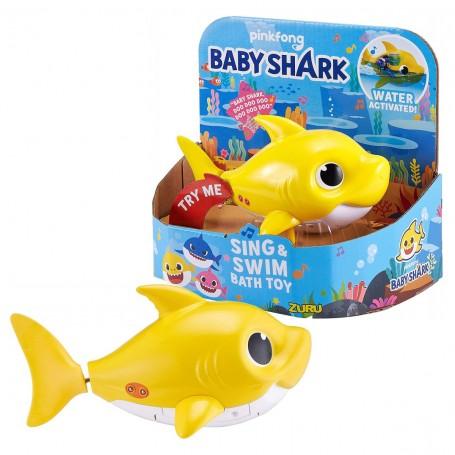 Baby Shark Şarkı Söyleyen ve Yüzen Sensörlü Figür