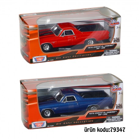 Motor Max 1:24 Ölçek Model Arabalar