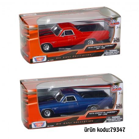 Motor Max Model Arabalar | 1:24 Ölçek