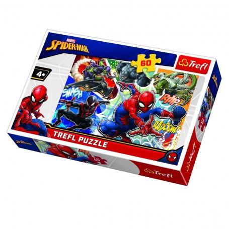 Örümcek Adam Brave Trefl Puzzle / 60 Parça