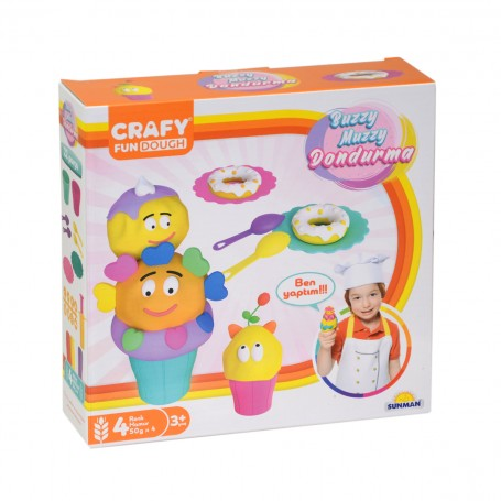 Buzzy Muzzy Dondurma Oyun Hamuru Seti