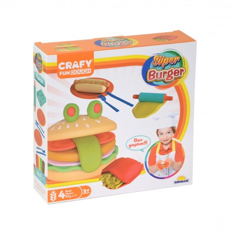 Super Burger Oyun Hamuru Seti