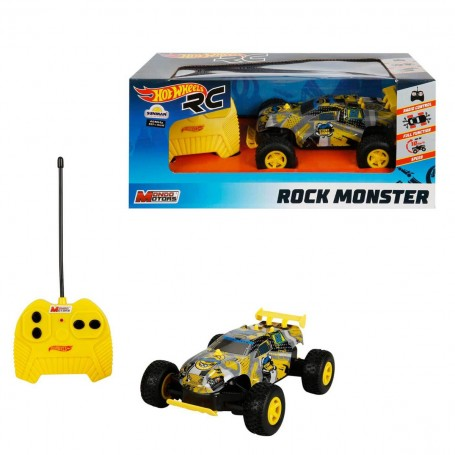 R/C Model Hot Wheels Rock Monster Araba