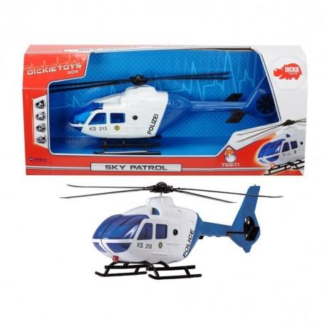 Dickie Toys Sky Patrol Polis Helikopteri   Işıklı ve Sesli