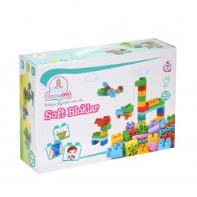 Babycim Soft Bloklar | 40 Parça