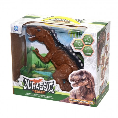 Tyrannosaurus Rex Hareketli Robot Dinozor | Sesli ve Işıklı