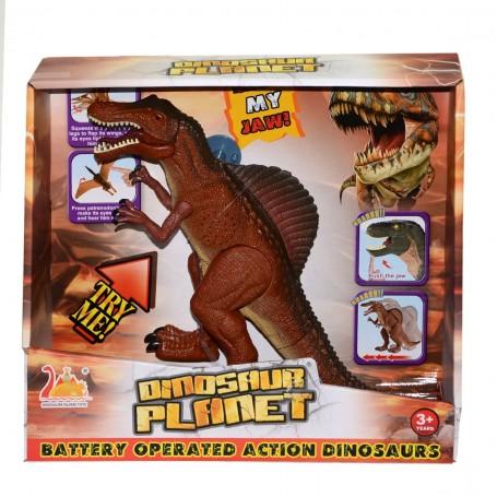 Pilli, Sesli ve Hareketli Robot Dinozor