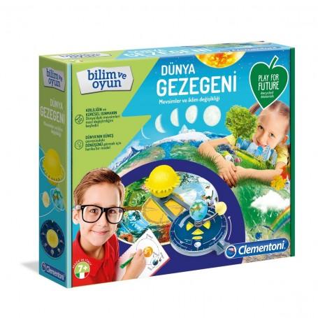 Clementoni Dünya Gezegeni   Bilim ve Oyun