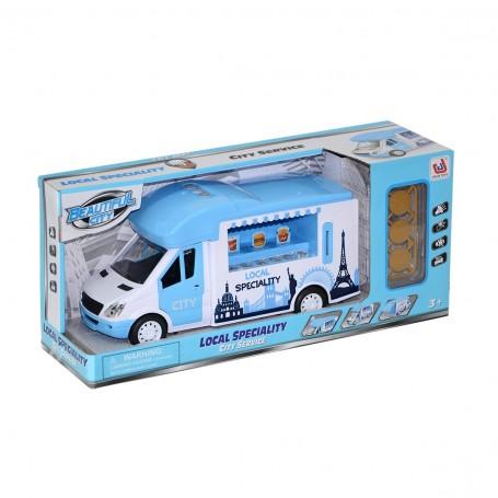 Aksesuarlı Seyyar Büfe Minibüs | Sesli ve Işıklı