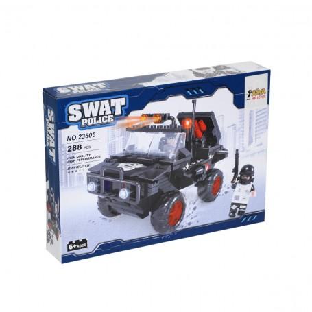 Swat Police Plastik Blok Seti   288 Parça