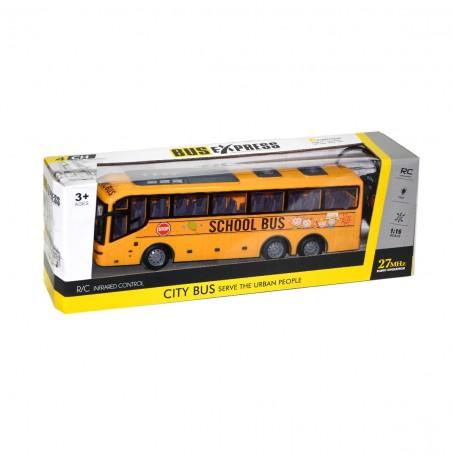 R/C Uzaktan Kumandalı Pilli Okul Otobüsü