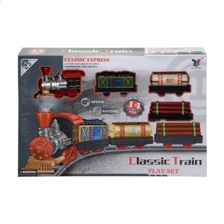 Klasik Pilli Tren Seti | 14 Parça