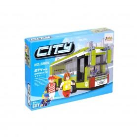 Bricks City Plastik Blok Seti | 274 Parça