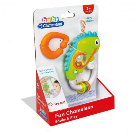 Baby Clementoni İnteraktif Bukalemun Çıngırak