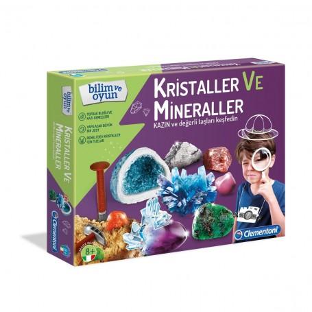 Clementoni Kristaller ve Mineraller | +7 yaş