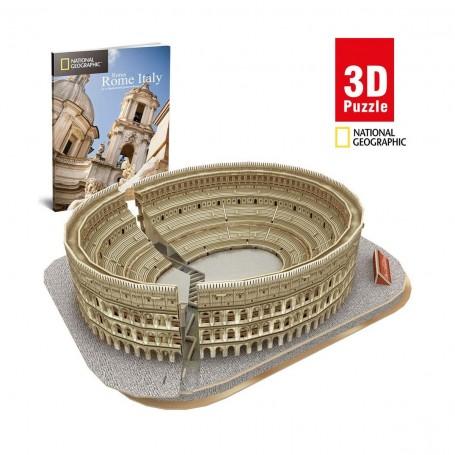 Cubic Fun National Geographic Colosseum 3D Puzzle | 131 Parça