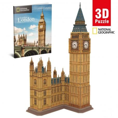 Cubic Fun National Geographic Big Ben 3D Puzzle   94 Parça