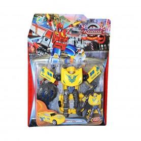 Dönüşen Racer Robot Figürü
