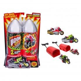 Boom City Racers 2'li Motorsiklet Paket