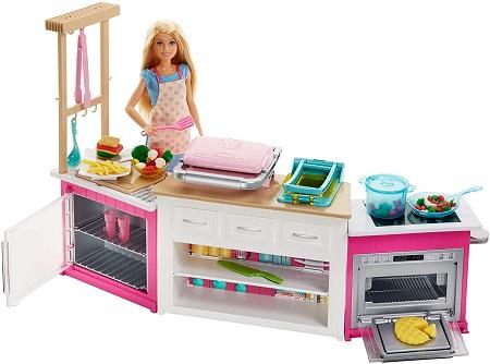 Barbie Mutfak Seti