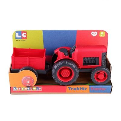 Oyuncak Traktör Römorklu